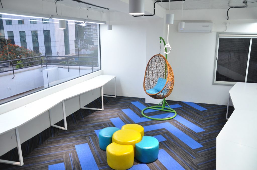 Cool office designs by Hidecor