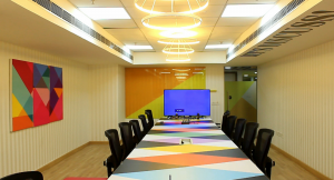 Grabhouse office Conference Room by Hidecor
