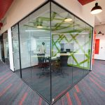 BigBasket office interiors Bangalore by Hidecor