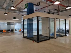 Decathlon Office Space Designed By Hidecor - Meeting Nook 2