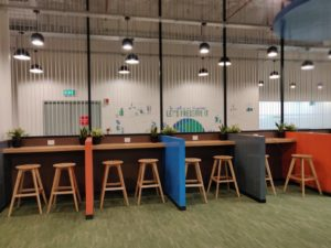 Decathlon Office Space Designed By Hidecor - High Chairs