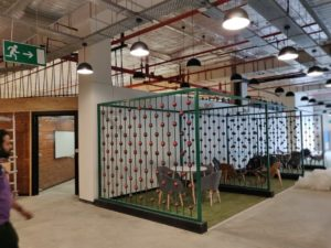 Decathlon Office Space Designed By Hidecor - Meeting Nooks