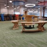 Decathlon Office Space Designed By Hidecor - Floor View 1