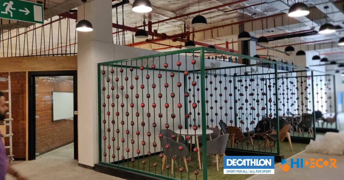 Decathlon Office Interior Design Case Study