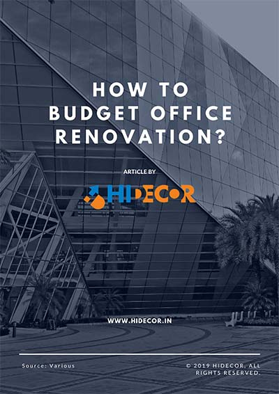 How to Budget Office Renovation?