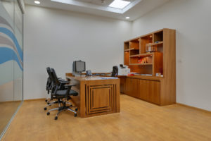 Ashirwad Aliaxis Office Interior by Hidecor - Private Office