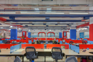 Office Floor - Ashirwad Aliaxis Office Interior by Hidecor