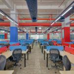Ashirwad Aliaxis Office Interior by Hidecor Workspace Floor