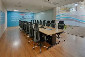 Ashirwad Aliaxis Office Interior - Boardroom by Hidecor Pic 4