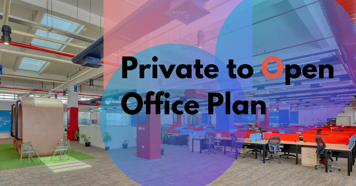 Blog - How to move from a private office to an open office plan?