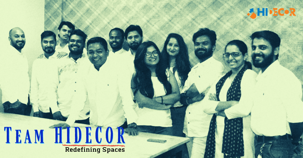 Team Hidecor Redefining Spaces