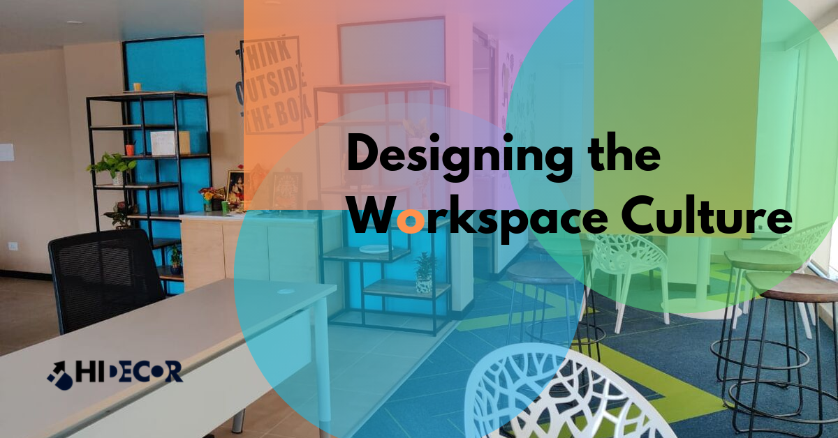 Designing the Workspace Culture - Blog Thumbnail