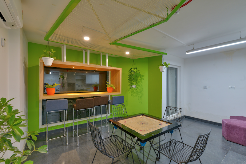 Titan Bengaluru Office designed by Hidecor - Breakout space - Carrom table