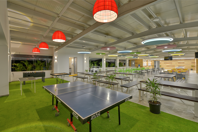 Titan Bengaluru Office designed by Hidecor - Cafeteria - game corner