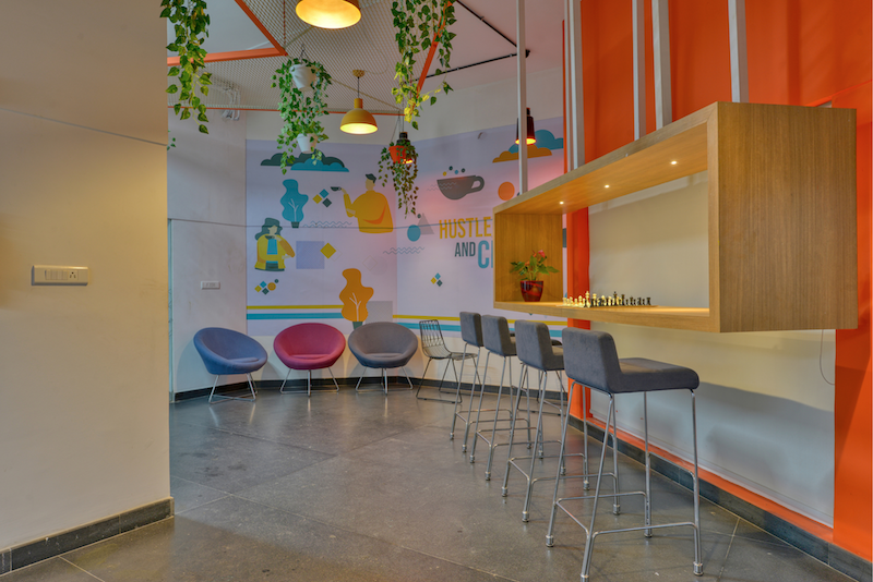 Titan Bengaluru Office designed by Hidecor - Chill Nook