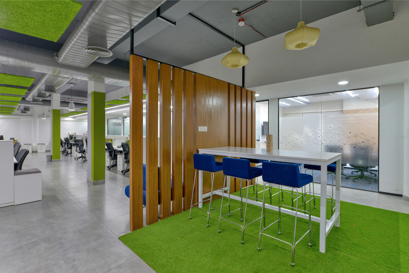 Titan Bengaluru Office designed by Hidecor - Space Divider